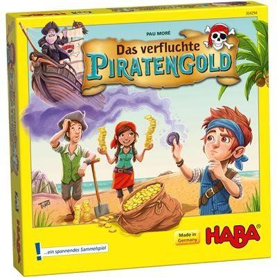 HABA 304294 - Kinderspiel - Das verfluchte Piratengold