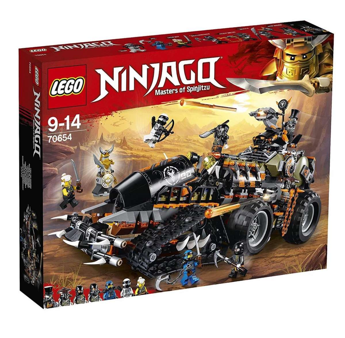 lego 70654  ninjago  drachenfänger  spielzeugweltende