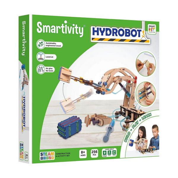 SMARTIVITY 302 - Konstruktionsspielzeug - HydroBot, 256 Teile