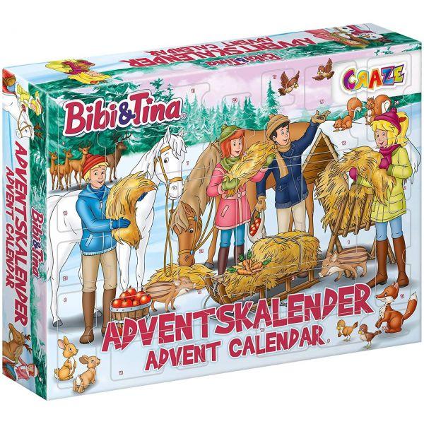 CRAZE 24676 - Adventskalender - Bibi und Tina, 2020