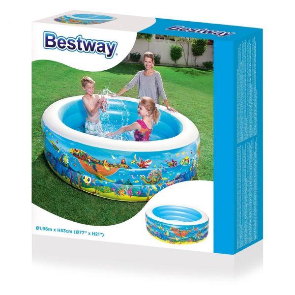 BESTWAY 51121 Planschbecken Play Pool, 196 x 53 cm
