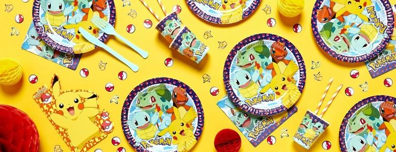Pokémon Partydeko bei Spielzeugwelten