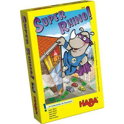 HABA 4092 - Mitbringspiel - Rhino Hero!