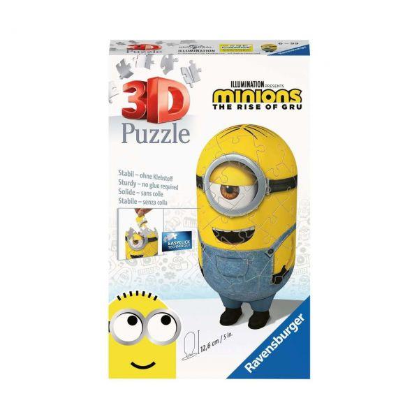 RAVENSBURGER 11199 - 3D Puzzle - Minions Jeans, 54 Teile