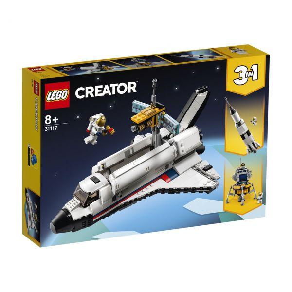 LEGO 31117 - Creator - Spaceshuttle-Abenteuer