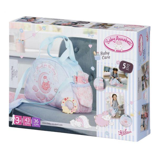Zapf Creation 703151 - Baby Annabell® - Wickeltasche