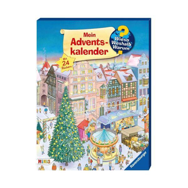 RAVENSBURGER 44509 - Adventskalender - Minis Buch Wieso? Weshalb? Warum?