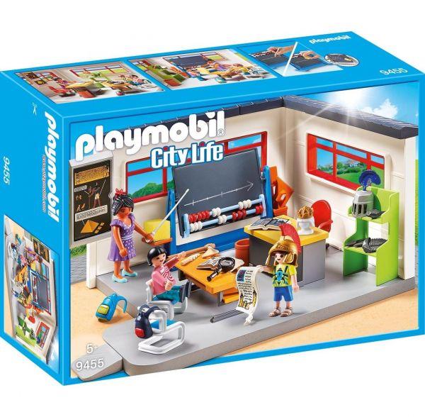 PLAYMOBIL 9455 - City Life Schule - Klassenzimmer Geschichtsunterricht