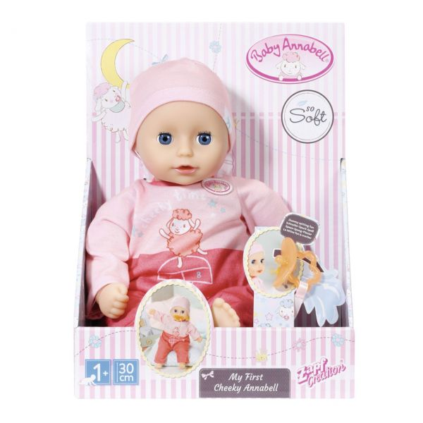 Zapf Creation 703304 - Baby Annabell® - My First Cheeky Annabell, 30cm