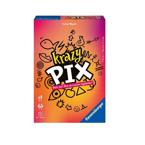 RAVENSBURGER 26836 - Gesellschaftsspiel - Party-Spiel Krazy Pix