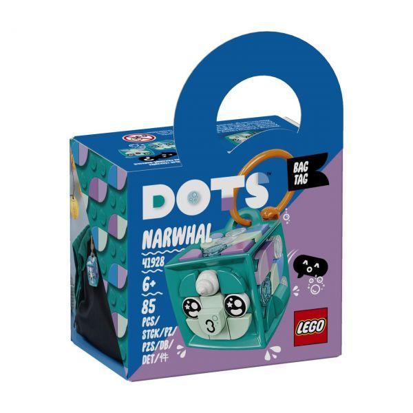 LEGO 41928 - DOTS - Taschenanhänger Narwal