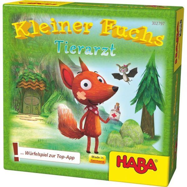 HABA 302797 - Mitbringspiel - Kleiner Fuchs Tierarzt