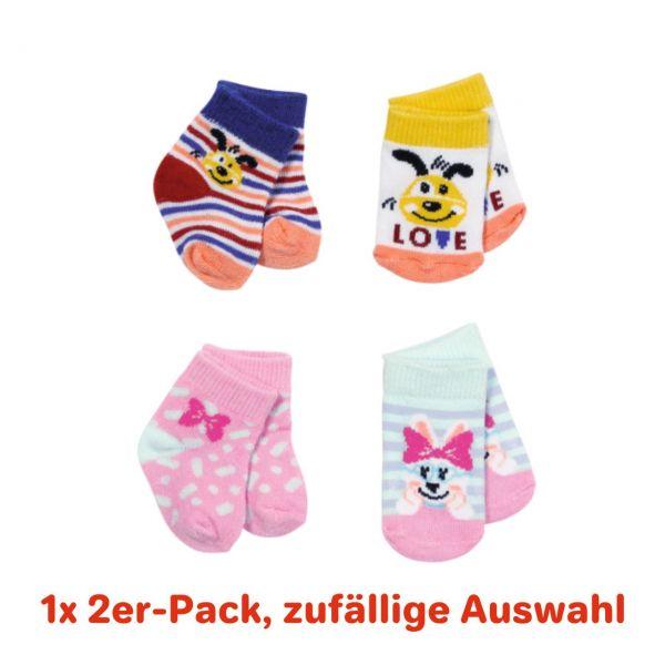 ZAPF 831755 - BABY born® - Socken, 2 Stk., 43cm