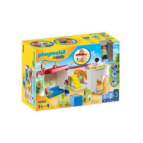 PLAYMOBIL 70399 - 1.2.3 - Mein Mitnehm-Kindergarten
