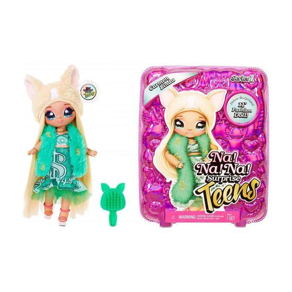 MGA 573883EUC - Na! Na! Na! Surprise - Teens Doll, Carmen Linda
