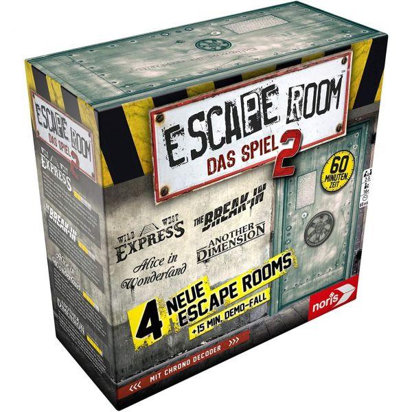 NORIS 606101891 - Gesellschaftsspiel - Escape Room Das Spiel 2