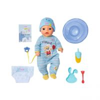 ZAPF 831977 - BABY born® - Soft Touch Little Boy, 36cm