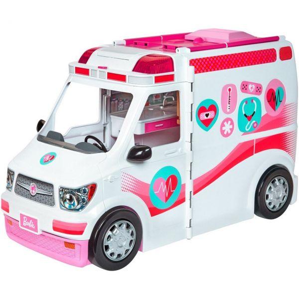 MATTEL FRM19 - Barbie - Krankenwagen Spielset
