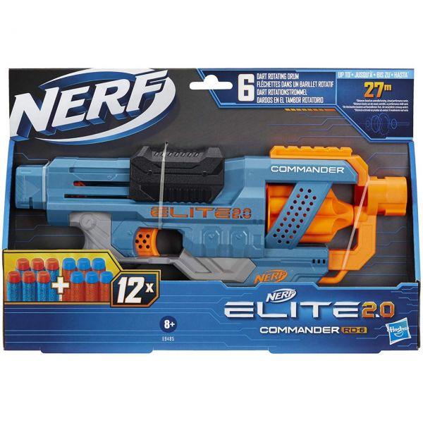 HASBRO E9485 - Nerf Elite 2.0 - Commander RD-6