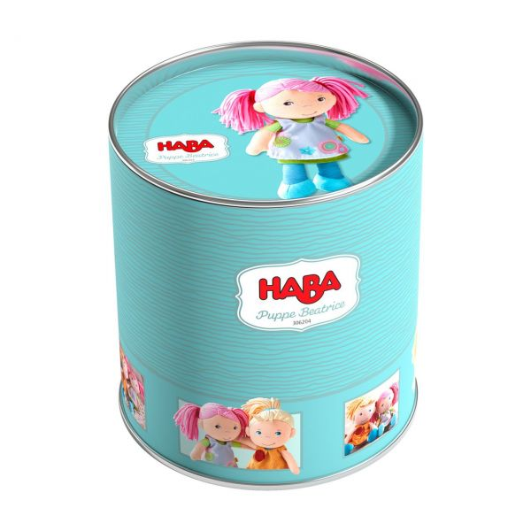 HABA 306204 - Lilli and Friends - Spielpuppe Beatrice, 20cm