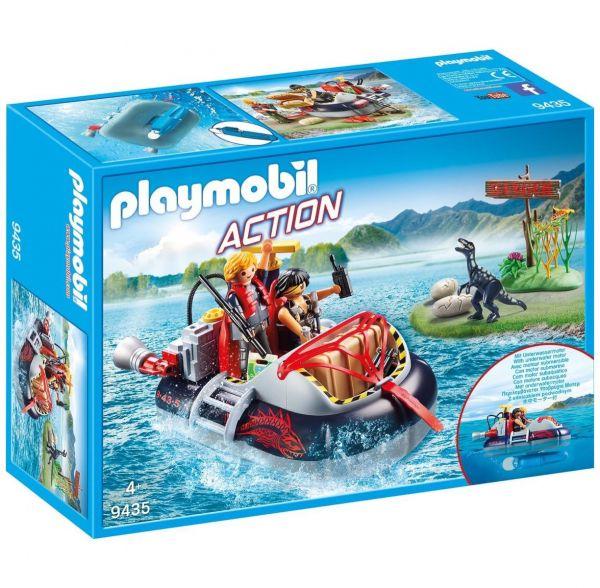 PLAYMOBIL 9435 - Action - Luftkissenboot mit Unterwassermotor