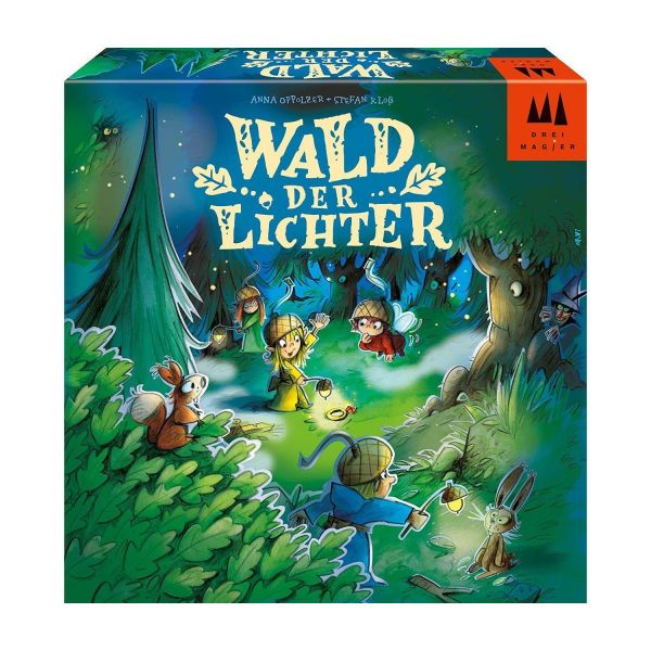 DREI MAGIER® 40888 - Kinderspiel - Wald der Lichter