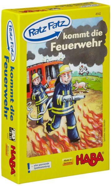 HABA 4542 - Lernspiel - Ratz-Fatz - Feuerwehr