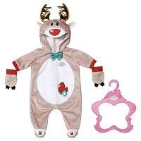 Zapf Creation 831700 - Baby Born® - Rentier Kuschelanzug, 43 cm