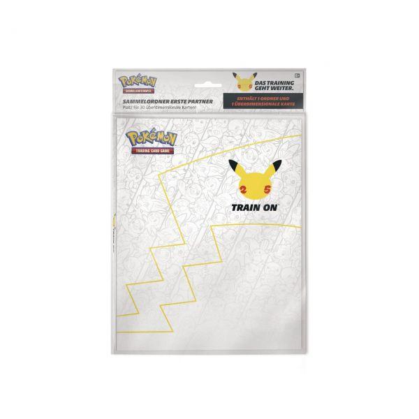 POKÉMON 45346 - Sammelalbum - Portfolio inkl. Oversized Card Pikachu, A5, 30 Karten