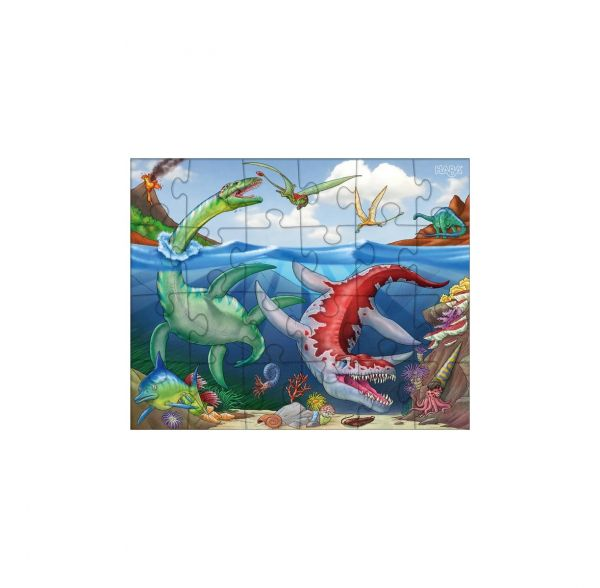 HABA 303377 - Puzzle - Dinosaurier