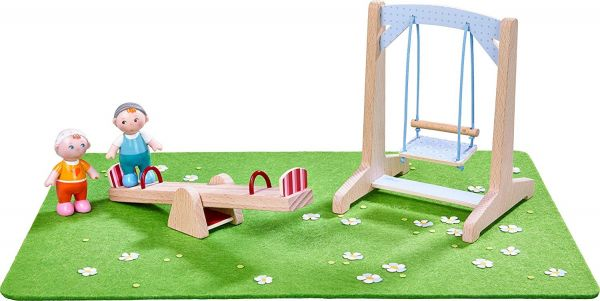 HABA 303939 - Little Friends - Spielset Spielplatz