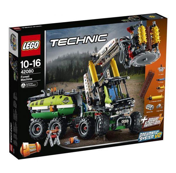 LEGO 42080 - Technic - Harvester-Forstmaschine