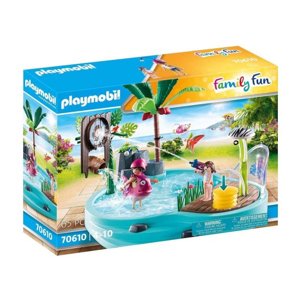PLAYMOBIL 70610 - Family Fun - Spaßbecken mit Wasserspritze