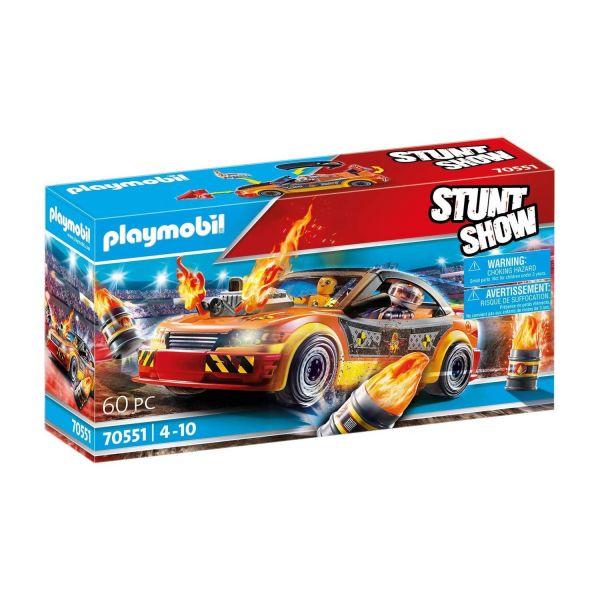 PLAYMOBIL 70551 - Stuntshow - Crashcar