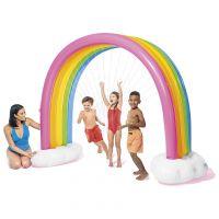 INTEX 56597NP - Wasserspielzeug - Regenbogen Rainbow Cloud Sprinkler, 300x180cm