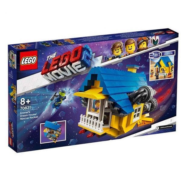 LEGO 70831 - The Lego Movie 2 - Emmets Traumhaus, Rettungsrakete