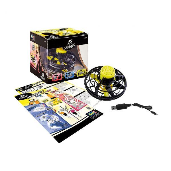 REVELL 24108 - Gartenspielzeug - Air Spinner, schwarz matt