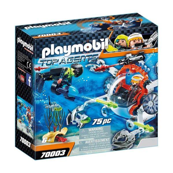 PLAYMOBIL 70003 - Top-Agents - SPY TEAM Sub Bot