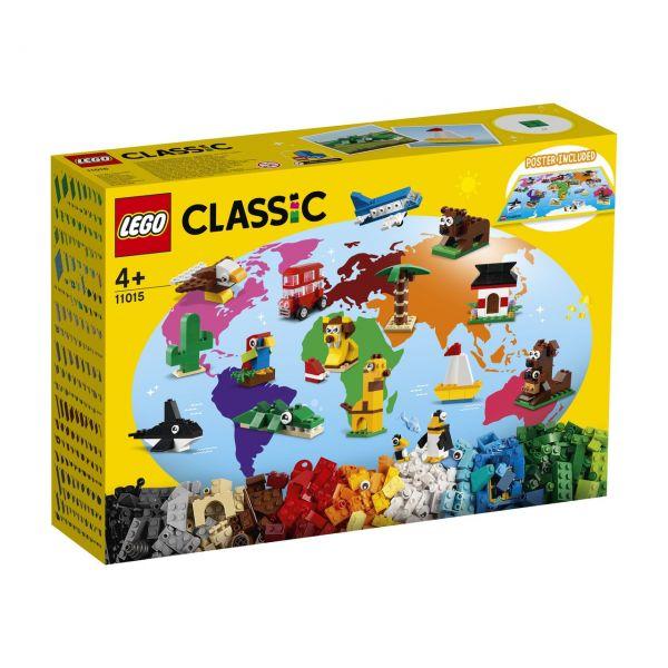 LEGO 11015 - Classic - Einmal um die Welt