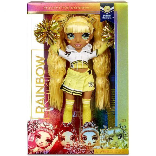 MGA 572053EUC - RAINBOW HIGH CHEER - Sunny Madison, Cheerleader gelb