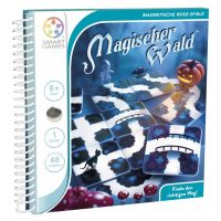 SMART GAMES 210 - Magnetische Reisespiele - Magischer Wald