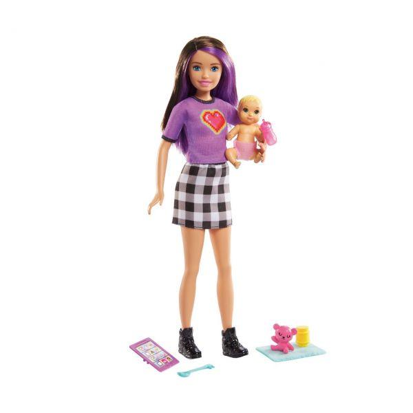 """MATTEL GRP11 - Barbie - """"Skipper Babysitters Inc."""" Skipper & Baby Puppe und Zubehör"""