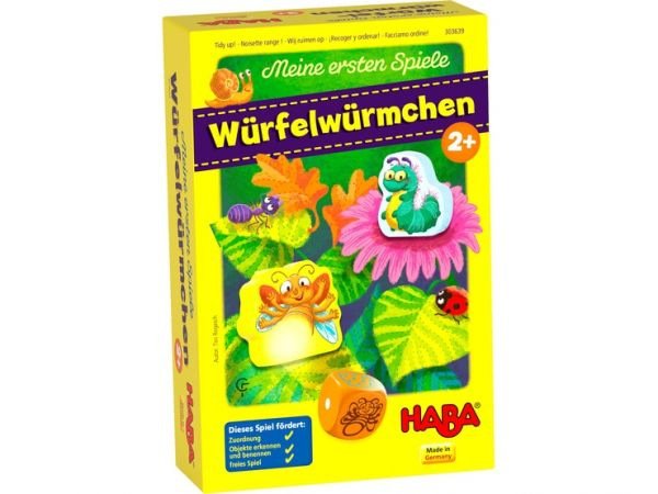 HABA 303639 - Meine ersten Spiele - Würfelwürmchen