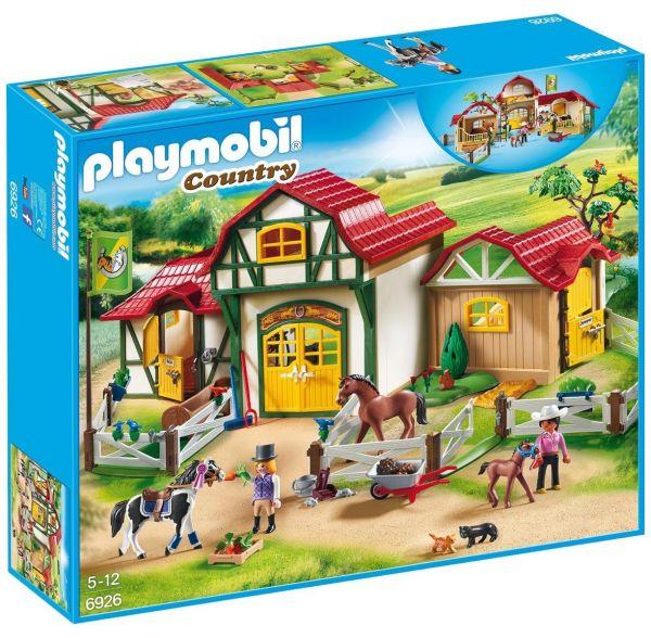 PLAYMOBIL 6926 - Country Reiterhof - Großer Reiterhof