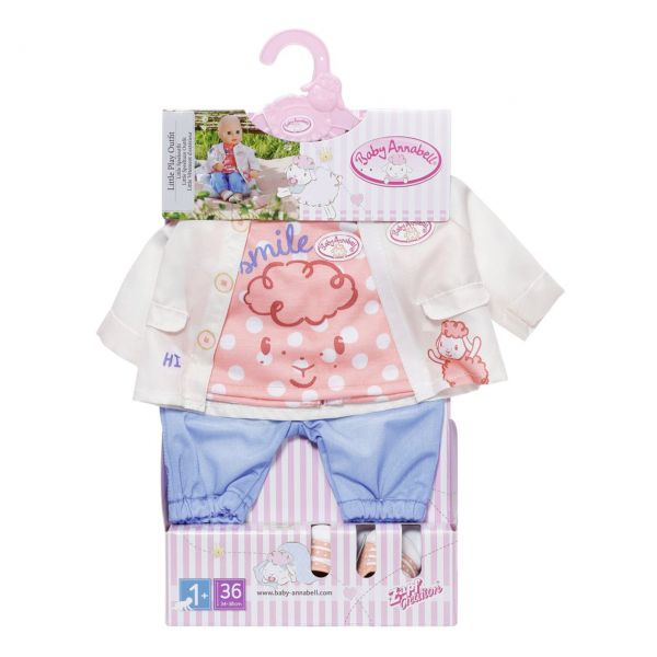 Zapf Creation 704127 - BABY Annabell® - Little Spieloutfit, 36cm
