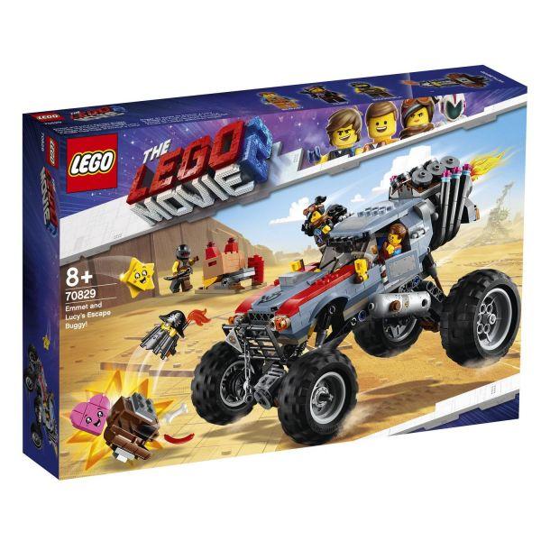 LEGO 70829 - The Lego Movie 2 - Emmets und Lucys Flucht-Buggy