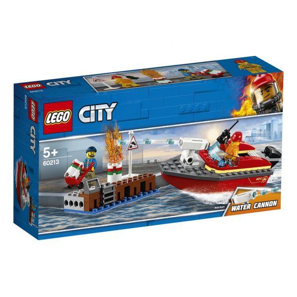 LEGO 60213 - City Feuerwehr - Feuerwehr am Hafen
