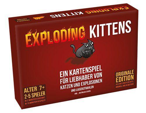 ASMODEE 0007 - Kartenspiel - Exploding Kittens