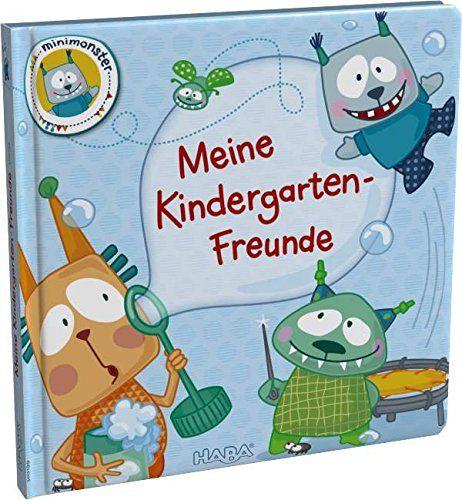 HABA 300199 - Freundebuch Minimonster, Meine Kindergarten Freunde