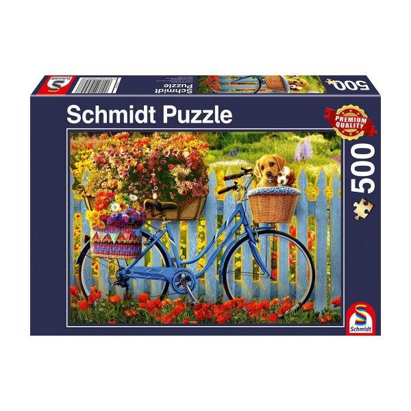 SCHMIDT 58957 - Puzzle - Sonntagsausflug mit guten Freunden, 500 Teile